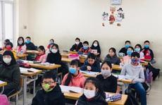Hàng loạt trường cho học sinh, sinh viên nghỉ học 1 tuần