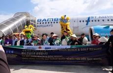 Bình Định đón chuyến bay quốc tế đầu tiên đến từ Hàn Quốc