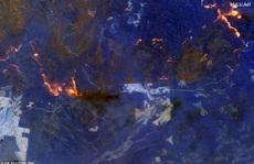 Những hình ảnh đáng kinh ngạc của cháy rừng Úc nhìn từ trên cao