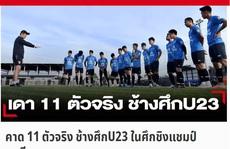 Báo chí Thái Lan: Bóng đá Việt Nam tiến bộ vượt bậc