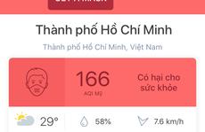 Lộ nguyên nhân không khí ở TP HCM ô nhiễm ngày đầu tuần