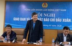 Biểu dương 90 cấp ủy viên là Chủ tịch Công đoàn cơ sở tiêu biểu