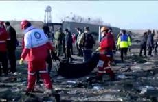 Xuất hiện nghi vấn máy bay Ukraine bị bắn hạ ở Iran