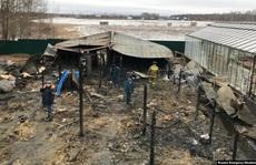 Nga: Cháy tại trang trại nhà kính, 8 người Việt thiệt mạng?
