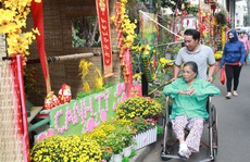 Có một 'đường hoa đặc biệt' trong Bệnh viện Chợ Rẫy