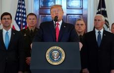 Iran cố tình bắn trượt, tổng thống Mỹ muốn xuống thang?