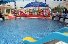 Bình Dương: Khánh thành hồ bơi phục vụ công nhân