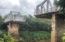 Bình Dương: Tranh cãi về việc tu sửa cầu Sông Bé