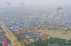 Toàn cảnh lũ lụt kinh khủng ở Thừa Thiên - Huế