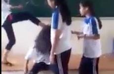 Đình chỉ học tập đối với nữ sinh đánh bạn, tung clip lên Facebook
