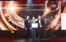 SonKim Land giành chuỗi giải thưởng lớn tại Giải thưởng Bất động sản Việt Nam 2020
