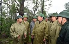 Mất liên lạc với Phó Tư lệnh Quân khu 4 cùng 12 cán bộ, chiến sĩ gặp nạn