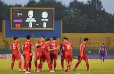 Sài Gòn FC thảm bại trên sân của Becamex Bình Dương