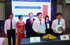 CEP và SAIGONBANK hợp tác phục vụ công nhân lao động