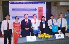 CEP và SAIGONBANK hợp tác phát hành thẻ ATM phục vụ công nhân