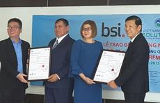 VWS nhận chứng chỉ ISO 9001 và 14001