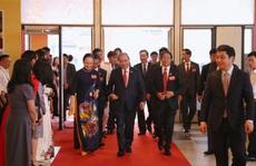 Thủ tướng Nguyễn Xuân Phúc dự, chỉ đạo Đại hội Đảng bộ TP Hải Phòng