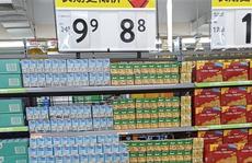 Sữa đậu nành NutiFood có mặt trên kệ hàng Walmart