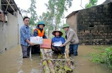 Cùng Báo Người Lao Động đi qua 'xứ ngập lụt' Quảng Bình