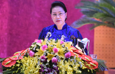 Chủ tịch Quốc hội Nguyễn Thị Kim Ngân chỉ đạo Đại hội Đảng bộ tỉnh Hòa Bình
