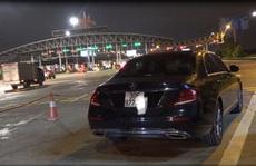 Xe sang Mercedes phóng 199 km/giờ trên cao tốc Pháp Vân - Cầu Giẽ