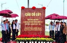 Cây cầu lớn nhất tỉnh Quảng Ngãi được thông xe