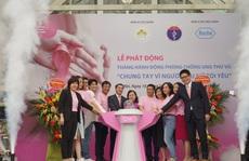 Chiến dịch truyền thông và khám sàng lọc phòng chống ung thư vú 2020