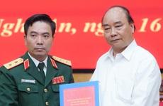 Thủ tướng Nguyễn Xuân Phúc chia sẻ nỗi đau thương, mất mát với cán bộ, chiến sĩ quân đội