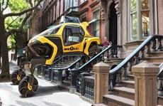 Hyundai phát triển 'xe đi bộ' biến hình như người máy