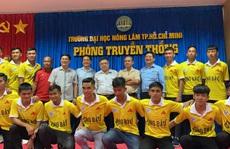 Bầu Đức hứa để Công Phượng, Tuấn Anh đá giao hữu với sinh viên ĐH Nông Lâm TP HCM