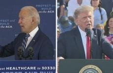 Chạy nước rút sau tranh luận, ông Trump phản pháo Biden về Covid-19