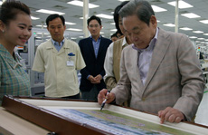 Samsung thời hậu Chủ tịch Lee Kun-hee