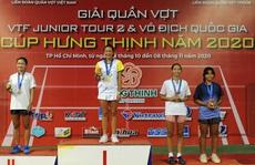 Huỳnh Trần Ngọc Nhi - tài năng trẻ quần vợt Việt Nam