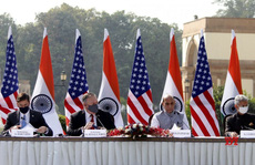 Trung Quốc cảnh báo về Chiến tranh lạnh sau cái 'bắt tay' Mỹ-Ấn