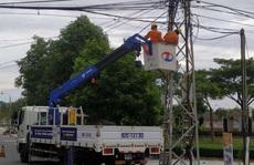 EVNCPC huy động toàn lực khắc phục  sự cố điện do bão số 9 gây ra