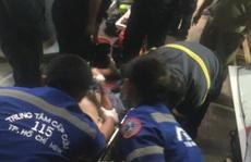 Giải cứu người đàn ông mắc kẹt trong căn nhà nhiều tầng ở trung tâm TP HCM