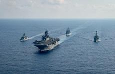 Mỹ nói về thông tin 'tấn công đảo bị Trung Quốc chiếm đóng' trên biển Đông