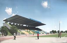 Cụm sân bóng Bình Thạnh sắp hoàn thành