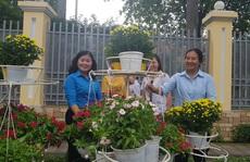 CNVC-LĐ góp gần 1.000 giỏ hoa làm đẹp đường An Dương Vương