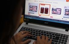 Nhộn nhịp mua bán hàng tươi sống trên chợ mạng