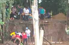 Người đàn ông tử vong vì bị thanh sắt công trình đâm thủng đầu