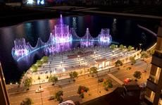 Khánh thành Quảng trường Diamond và khởi công Nhạc nước tại Khu Đô thị Vạn Phúc