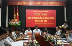Hủy tư cách đại biểu 2 lãnh đạo bị 'đưa nhầm' vào danh sách dự Đại hội Đảng bộ Quảng Bình