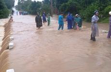 Bão số 12 áp sát bờ Phú Yên, Khánh Hòa, mưa rất to