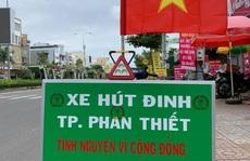 Nhóm SBC Bình Thuận chế xe hút đinh, triệt đường làm ăn của 'đinh tặc'