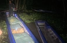 Truy đuổi trên sông, tổ chống buôn lậu thu được kết quả bất ngờ