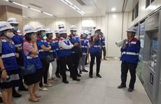 Cán bộ Công đoàn tham quan công trình trọng điểm TP HCM
