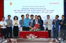 EVNFinance cung cấp gói vay lắp đặt điện mặt trời mái nhà cho CB-NV ngành điện