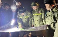 Bộ trưởng Bộ NN-PTNT: Phải di dời dân ra khỏi vùng nguy hiểm trước 21 giờ tối 14-11!