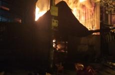 'Bà hỏa' thiêu rụi hai quán cà phê, một căn nhà ở Bình Dương